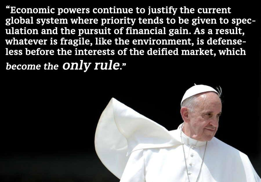 Pope Francis Only Rule