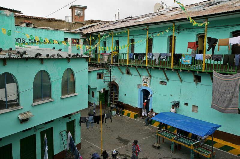 Bolivia Courtyard
