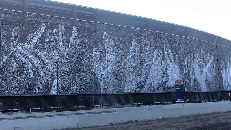 San Jose Hands Mural