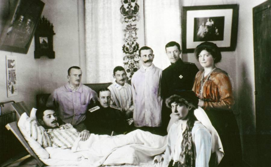 Romanov Family Bed Ridden