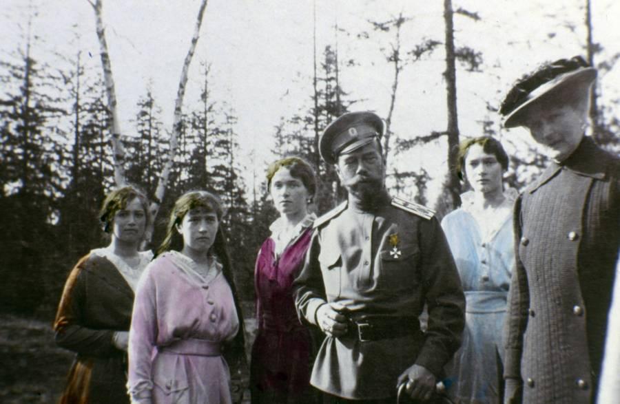 Romanov Family Daughters