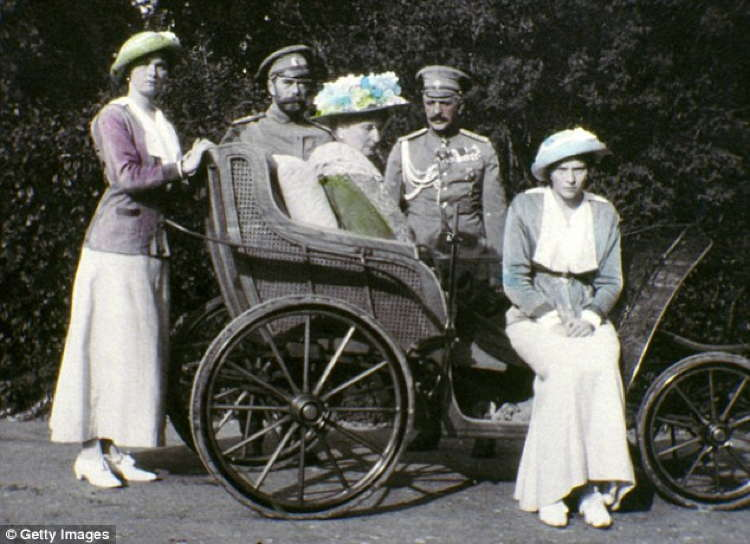 Romanov Last Days Carriage