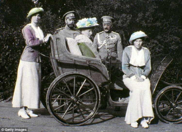 Romanov Last Days Carriage