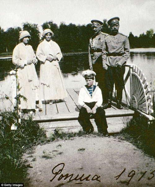 Romanov Last Days Family