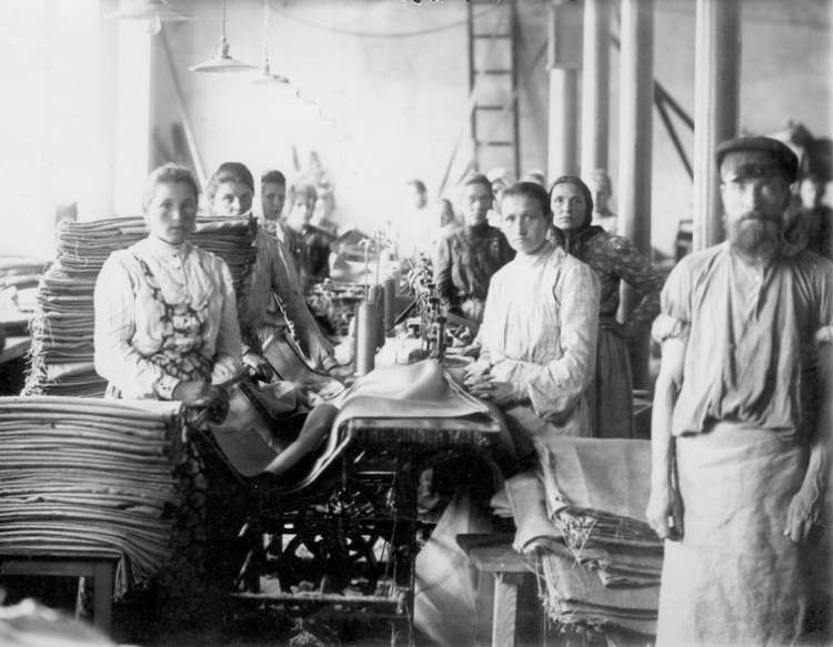 Factory In Tsarist Russia