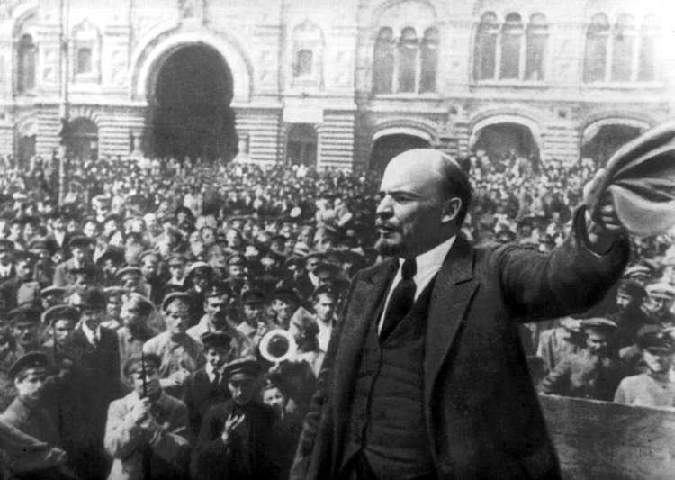 Vladimir Lenin In 1917