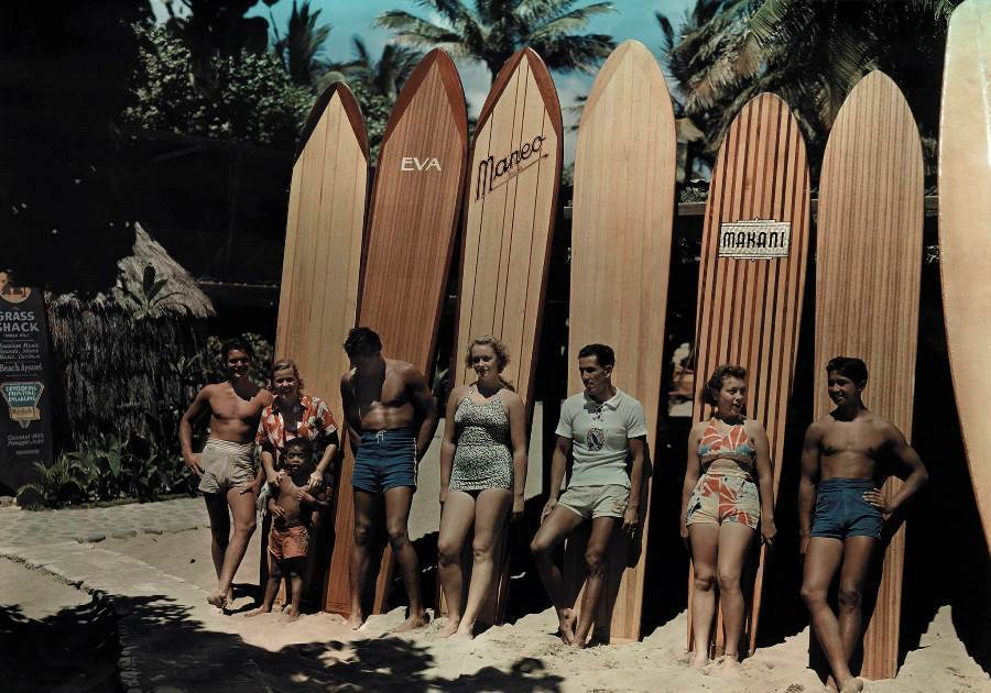 Surfboards 1937