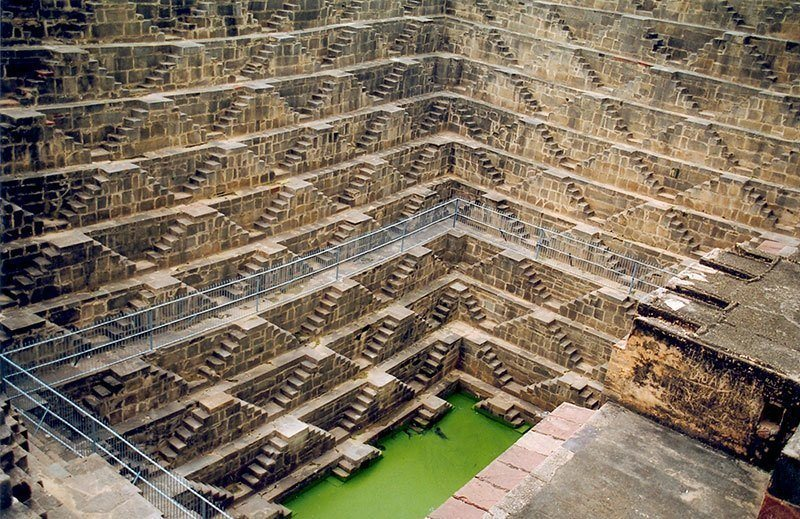 Chand Baori in Italy