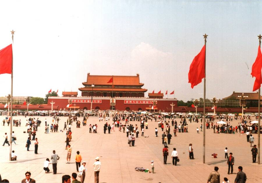 Tiananmen Square In 1988