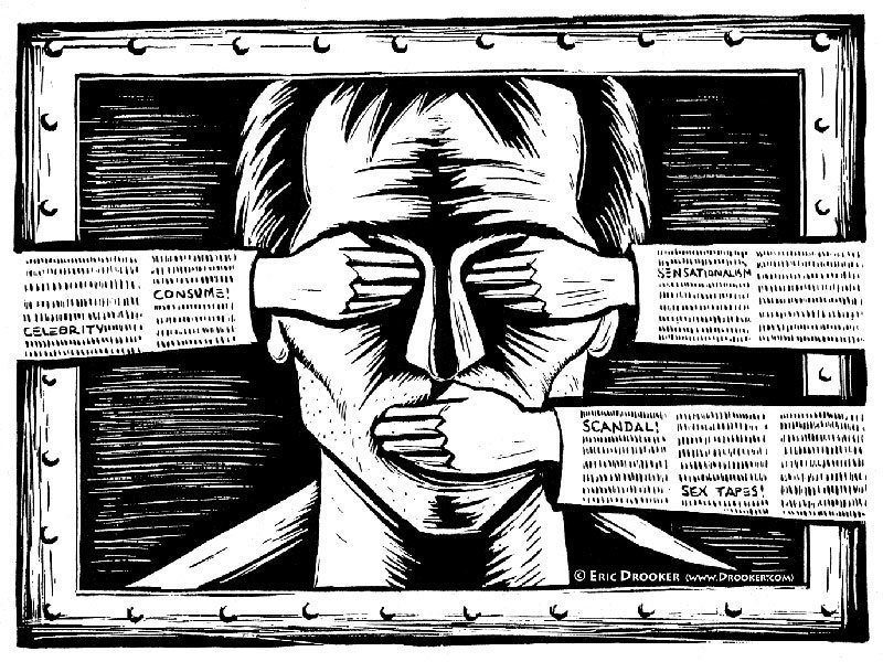 Illustration About Censorship In China