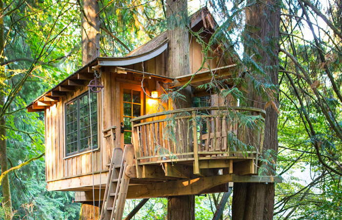 TreeHouse Point Deck