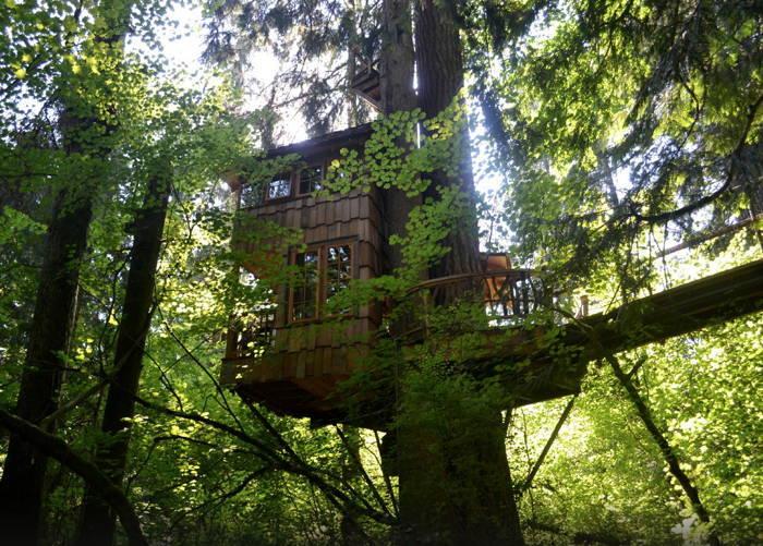 TreeHouse Point Balcony