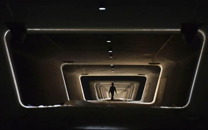 Underground Worker Railway China