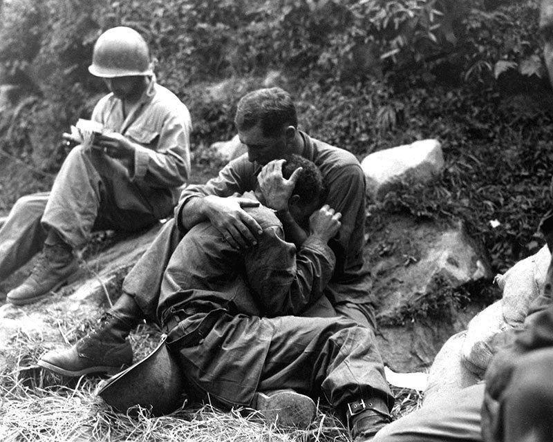 Vintage Korean War Infantryman
