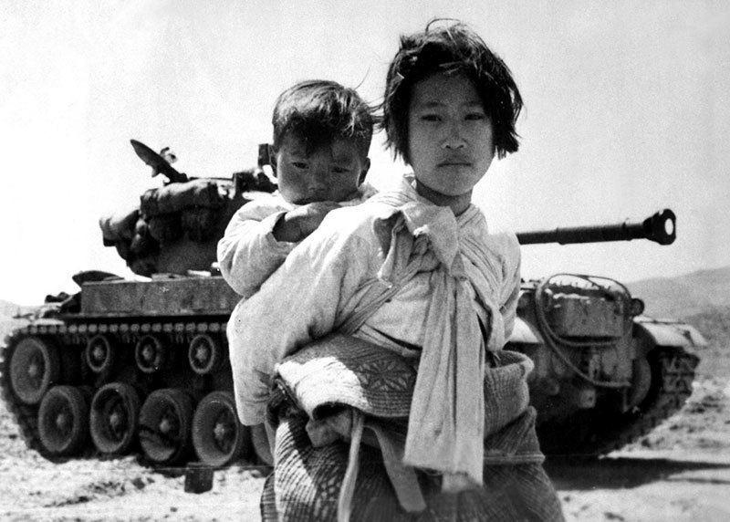 Vintage Korean War M 26 Tank