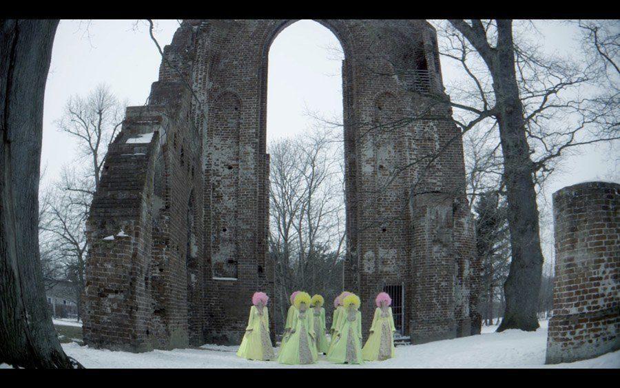 weird girls project gothic arch