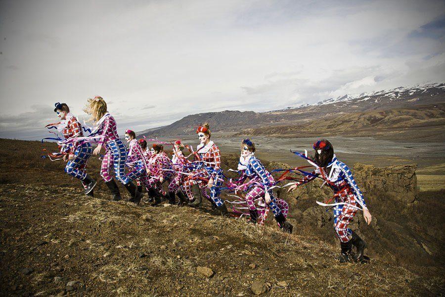weird girls project mountain clowns