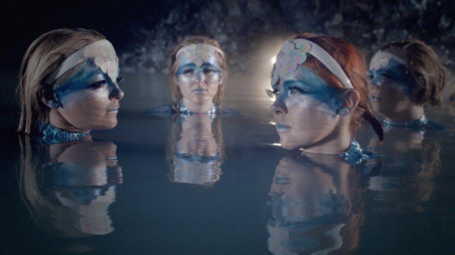 weird girls project water maidens
