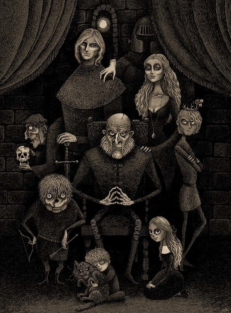 game of thrones art lannister