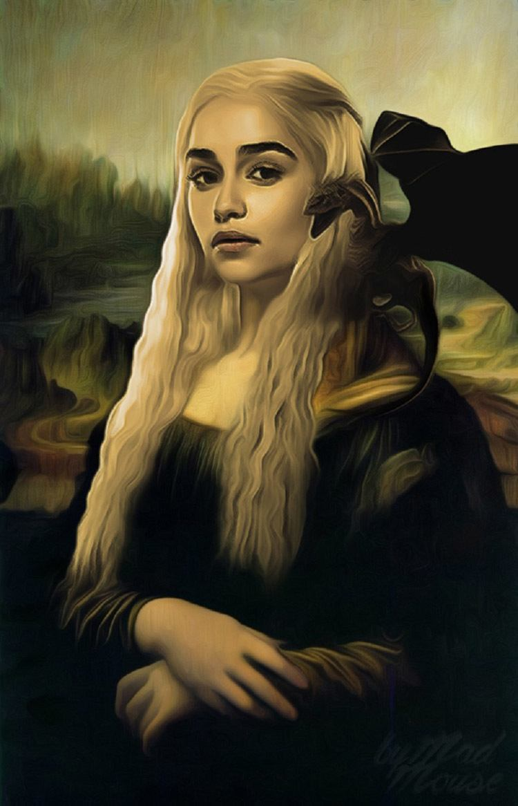 game of thrones art mona lisa