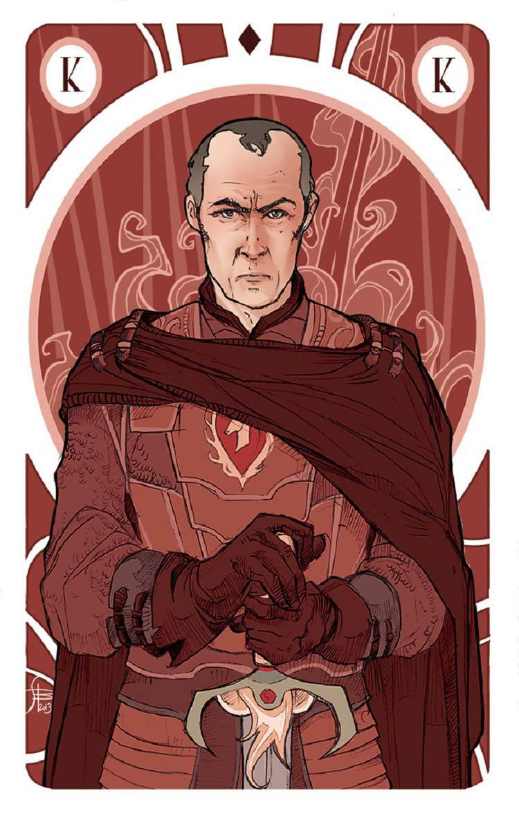 game of thrones art stannis
