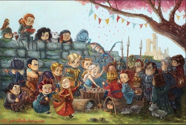 game of thrones art nostalgia