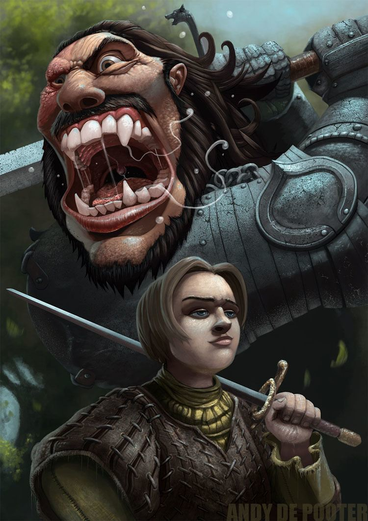 game of thrones art screaming