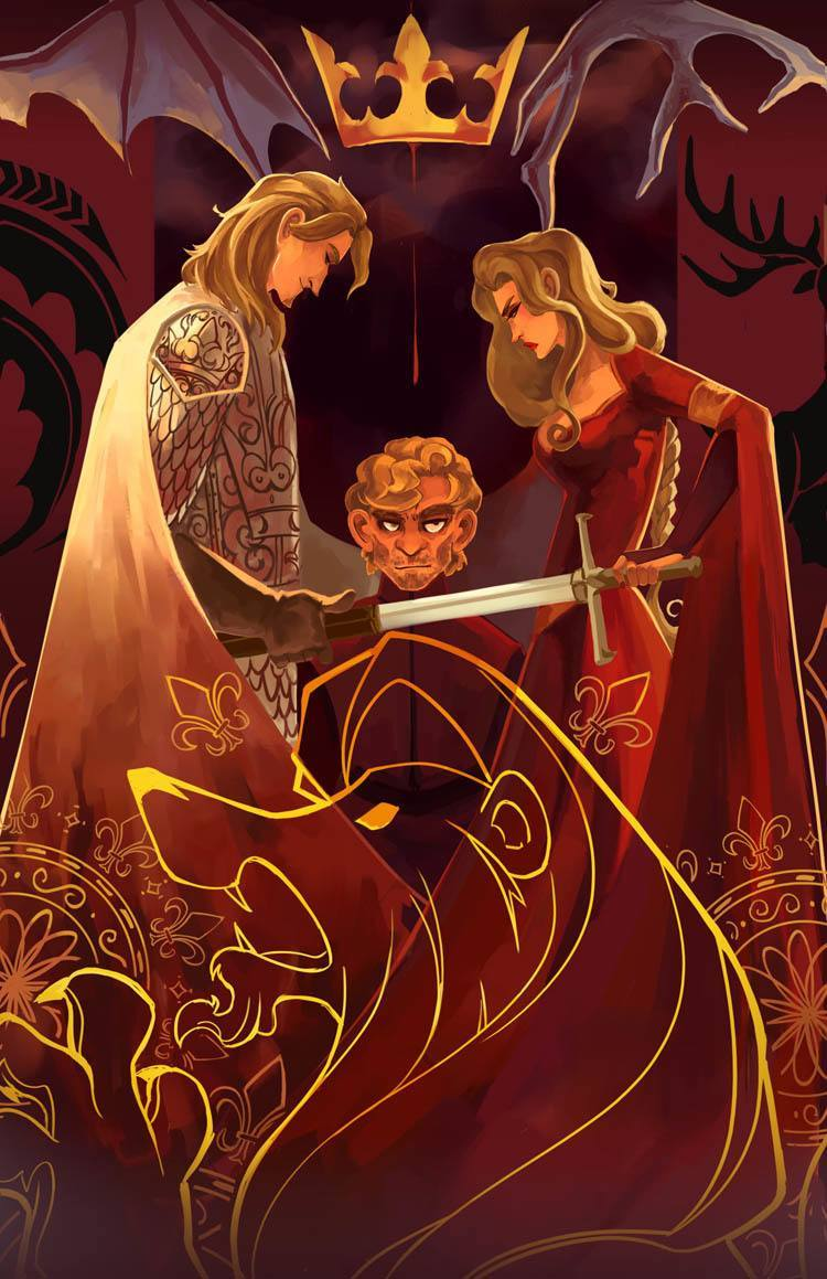 game of thrones art siblings