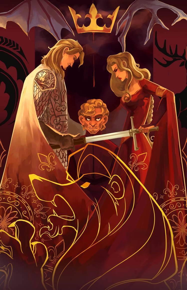 game of thrones art siblings