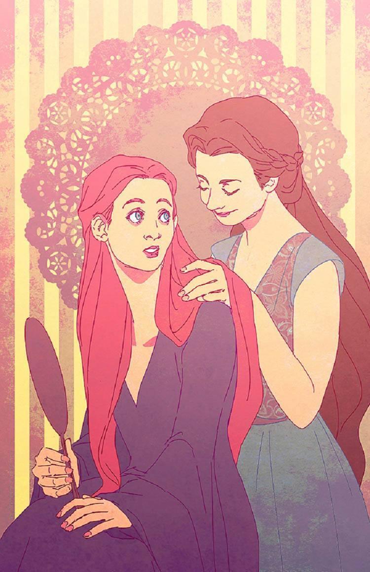 game of thrones art sisters