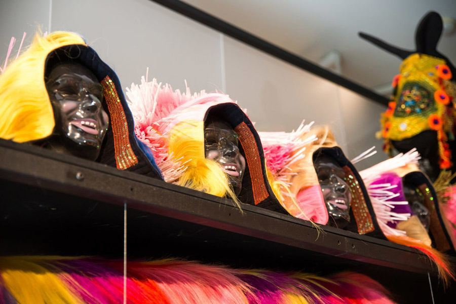 Nick Cave soundsuits masks