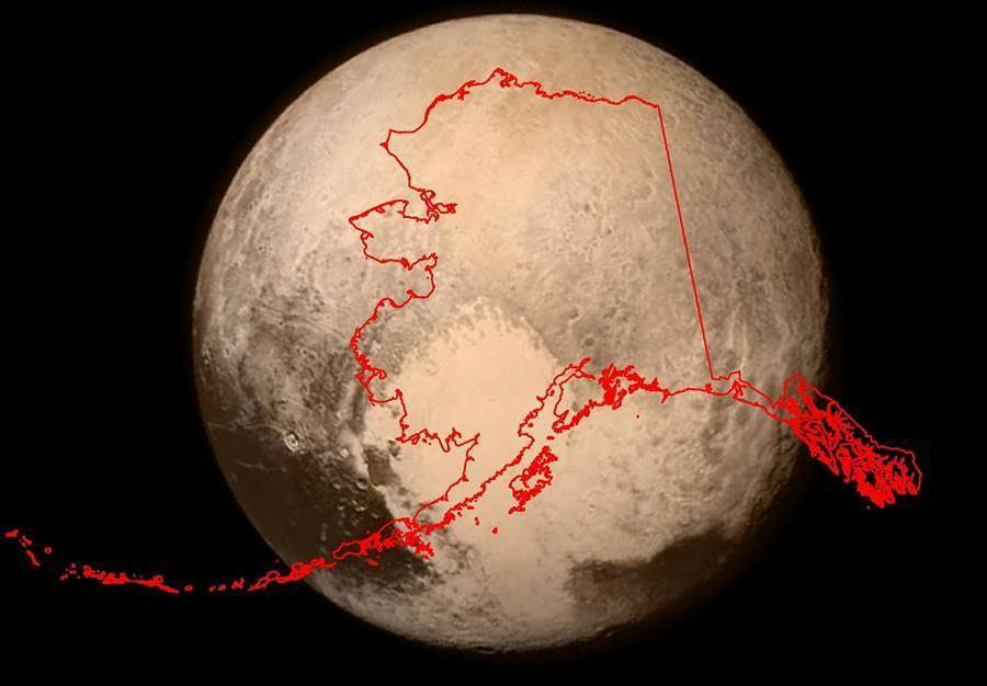 Alaska Versus Pluto