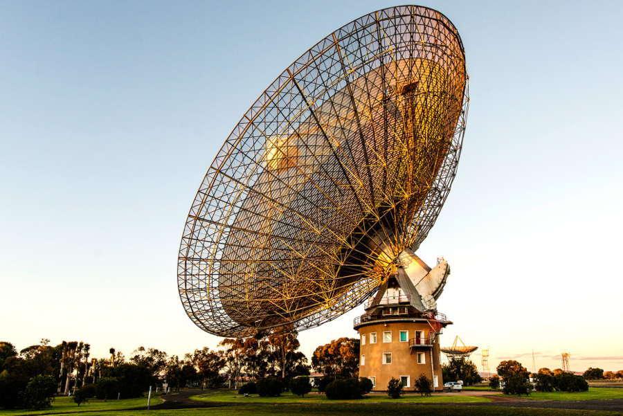 Alien Hunt Telescope