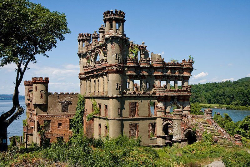 Ruins Of Bannerman Castle