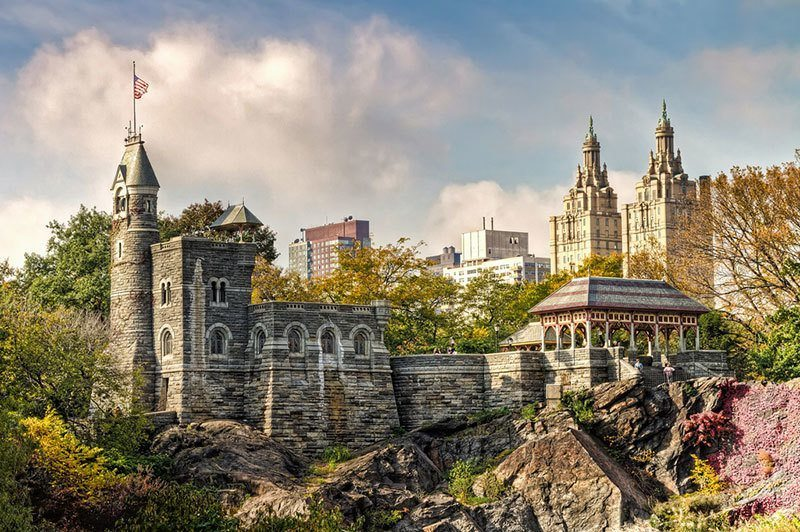 Belvedere Castle In New York CIty