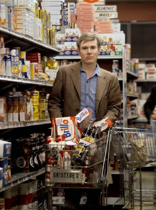 Andy Warhol Grocery Shopping