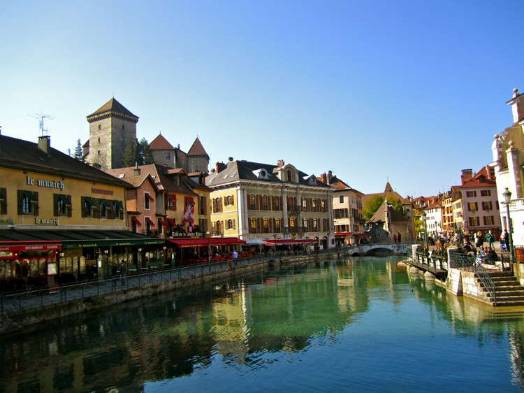 Beautiful Towns Annecy Far