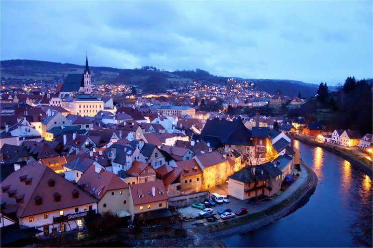 Beautiful Towns Cesky Night