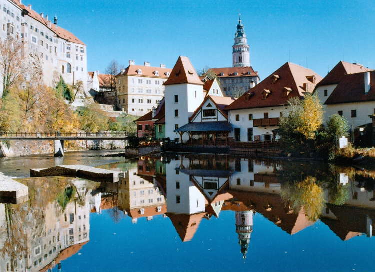 Beautiful Towns Cesky Reflections