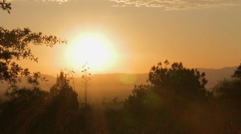 Border Lands Sun Rise