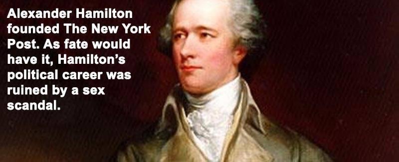 Alexander Hamilton New York Post