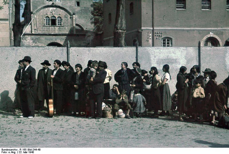 Deportation Of Romani In 1940