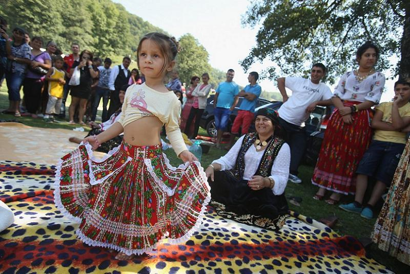 Dancing Gypsy Girl