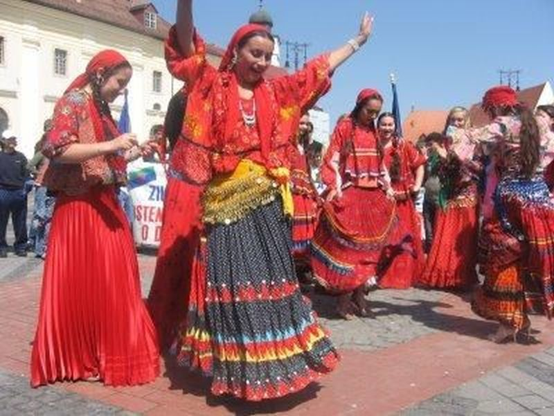 Gypsies Red Dress