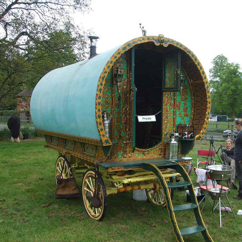 Gypsies Wagon Exhibit