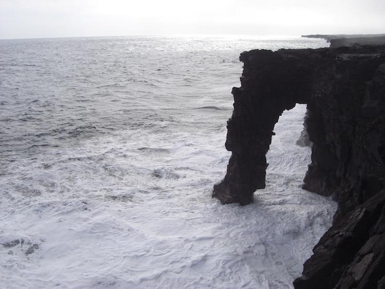 Kalapana Arch