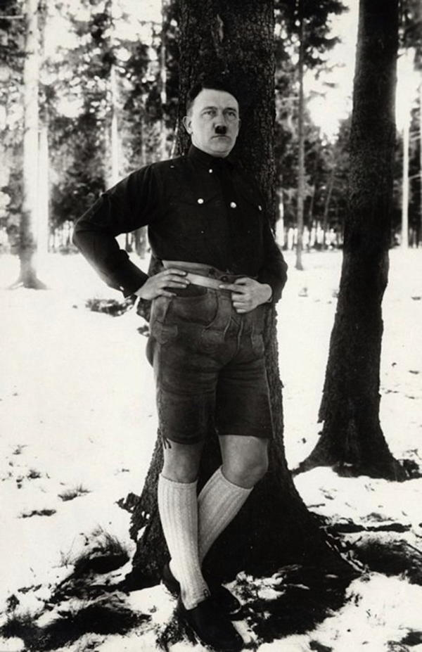 Hitler Shorts Long Socks
