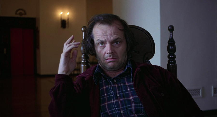 Jack Nicholson Looking Forward
