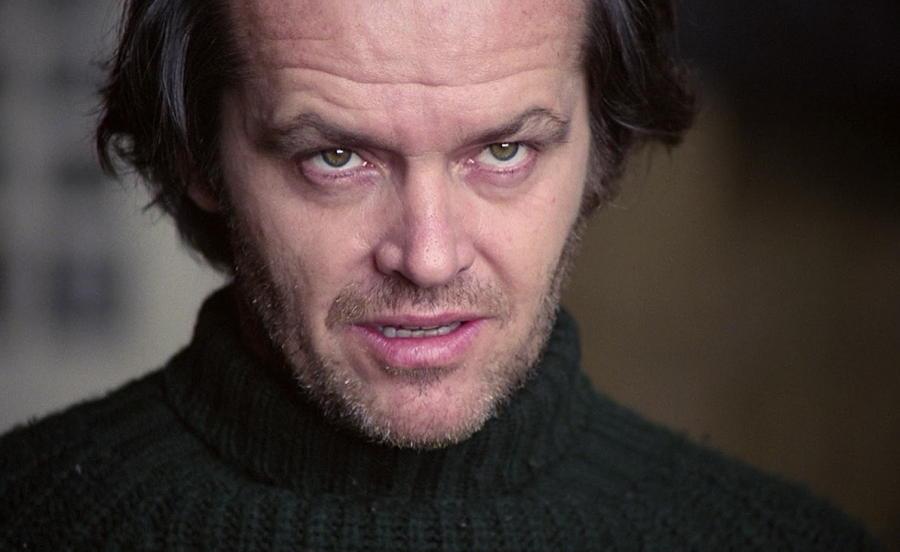 Jack Nicholson Staring