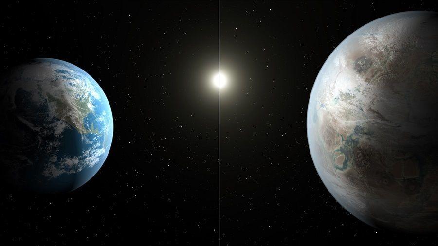 Kepler 452b Earth Comparison